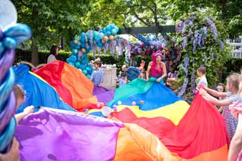 Under The Sea Party, Four Seasons Park Lane